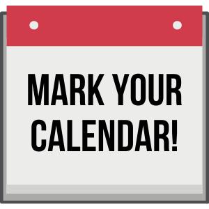 2020 CCA Dates