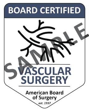 Vascular Surgery Website Badge